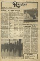 The Parkside Ranger, Volume 9, issue 15, January 22, 1981