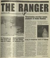 The Ranger , Volume 30, issue 13, December 14, 2000