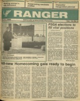 The Parkside Ranger, Volume 15, issue 6, October 9, 1986