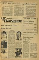 The Parkside Ranger, Volume 2, issue 1, September 5, 1973
