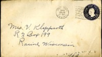Letter from Daniel Klapproth to his mother while stationed in Fort Amador, Canal Zone, August 15, 1940