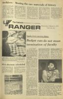 The Parkside Ranger, Volume 1, issue 16, February 7, 1973