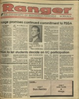 The Parkside Ranger, Volume 18, issue 16, January 25, 1990