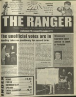 The Ranger , Volume 27, issue 19, March 11, 1999