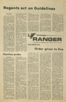 The Parkside Ranger, Volume 3, issue 10, October 9, 1974