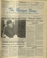 The Ranger News, Volume 25, issue 10, November 7, 1996