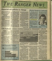 The Ranger News, Volume 20, issue 21, February 27, 1992
