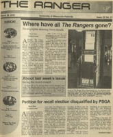 The Ranger, Volume 31, issue 23, March 29, 2001