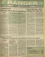 The Parkside Ranger, Volume 15, issue 27, April 16, 1987
