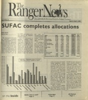 The Ranger News, Volume 33, issue 10, March 6, 2003