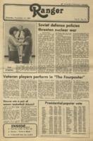 The Parkside Ranger, Volume 9, issue 11, November 13, 1980