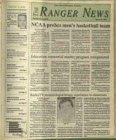 The Ranger News, Volume 20, issue 23, March 12, 1992