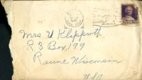 Letter from Daniel Klapproth to his mother while stationed in Fort Amador, Canal Zone, September 30, 1940