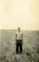 Daniel Klapproth in a grassy field