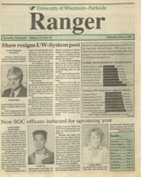 The Parkside Ranger, Volume 19, issue 28, May 2, 1991