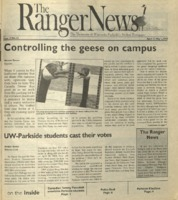 The Ranger News, Volume 33, issue 12, April 17, 2003