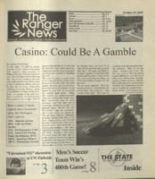 The Ranger News, Volume 35, issue 4, October 23, 2004