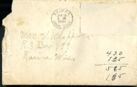 Letter from Daniel Klapproth to his mother while stationed in Fort Amador, Canal Zone, January 15, 1940