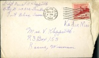 Letter from Daniel Klapproth to his mother while stationed in Fort Bliss, Texas, February 1, 1944