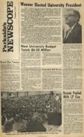 Parkside's Newscope, Volume 2, Issue 6, November 2, 1970