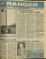 The Parkside Ranger, Volume 15, issue 19, February 19, 1987