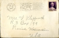 Letter from Daniel Klapproth to his mother while stationed in Fort Amador, Canal Zone, May 18, 1940