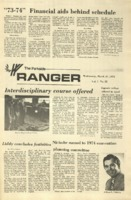 The Parkside Ranger, Volume 1, issue 22, March 21, 1973