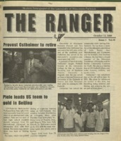 The Ranger , Volume 30, issue 5, October 12, 2000