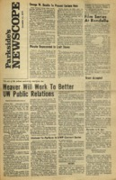Parkside's Newscope, Volume 2, Issue 9, November 23, 1970