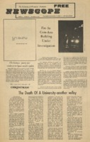 Parkside's Newscope, Volume 5, issue 15, December 13, 1971