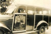 A public transit vehicle