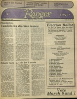 The Parkside Ranger, Volume 13, issue 21, February 28, 1985