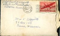 Letter from Daniel Klapproth to his mother while stationed in Fort Bliss, Texas, March 15, 1944