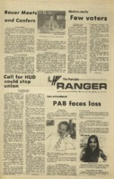 The Parkside Ranger, Volume 3, issue 17, November 26, 1974