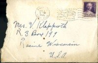 Letter from Daniel Klapproth to his mother while stationed in Fort Amador, Canal Zone, May 4, 1940