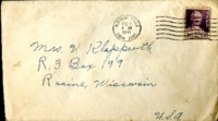 Letter from Daniel Klapproth to his mother while stationed in Rio Hato, Panama, August 7, 1941