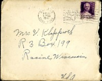 Letter from Daniel Klapproth to his mother while stationed in Fort Amador, Canal Zone, March 28, 1941