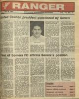 The Parkside Ranger, Volume 16, issue 14, December 10, 1987
