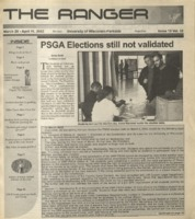 The Ranger , Volume 32, issue 17, March 28, 2002