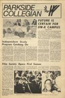 Parkside Collegian, Volume 1, issue 2, November 7, 1969