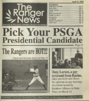 The Ranger News, Volume 34, issue 12, April 15, 2004