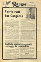 The Parkside Ranger, Volume 6, issue 4, September 21, 1977