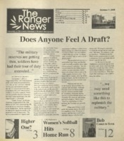 The Ranger News, Volume 35, issue 3, October 9, 2004
