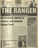 The Ranger , Volume 27, issue 16, February 18, 1999