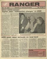 The Parkside Ranger, Volume 15, issue 18, February 12, 1987