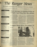 The Ranger News, Volume 26, issue 9, November 13, 1997