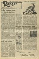 The Parkside Ranger, Volume 11, issue 12, November 24, 1982