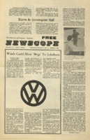 Parkside's Newscope, Volume 5, issue 9, November 1, 1971