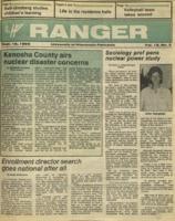 The Parkside Ranger, Volume 15, issue 3, September 18, 1986