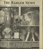The Ranger News, Volume 34, issue 4, October 30, 2003